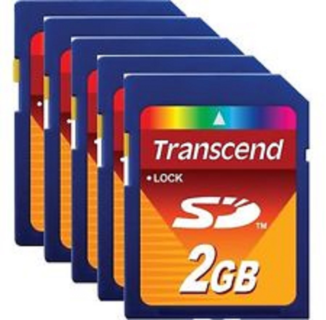 TRANSCEND TS2GSDC CARD, SD, 2GB (100 pieces)