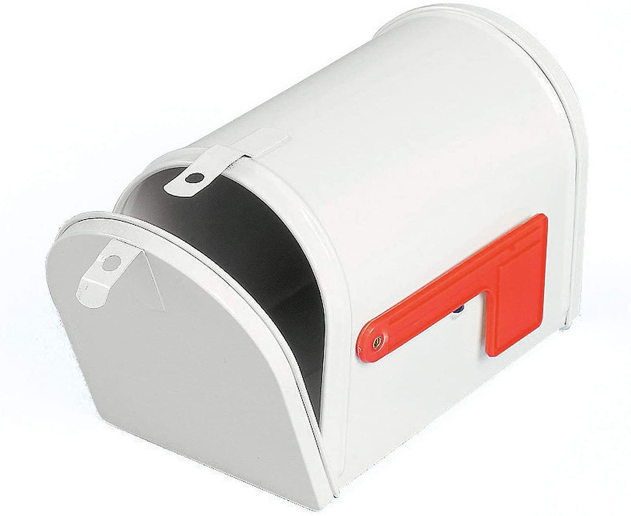 White Tinplate Mailbox Toy - Great for Kids Crafts and Decorating Activities