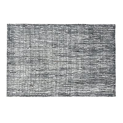 LinenTablecloth Shimmer Burlap Placemats Charcoal 2/Pack - Placemats sold in Packs of 2 Woven tinsel for extra embellishment Stiffened burlap for durability - placemats, kitchen-dining-room-table-linens, kitchen-dining-room - 61f6Vlq7JvL. SS400  -