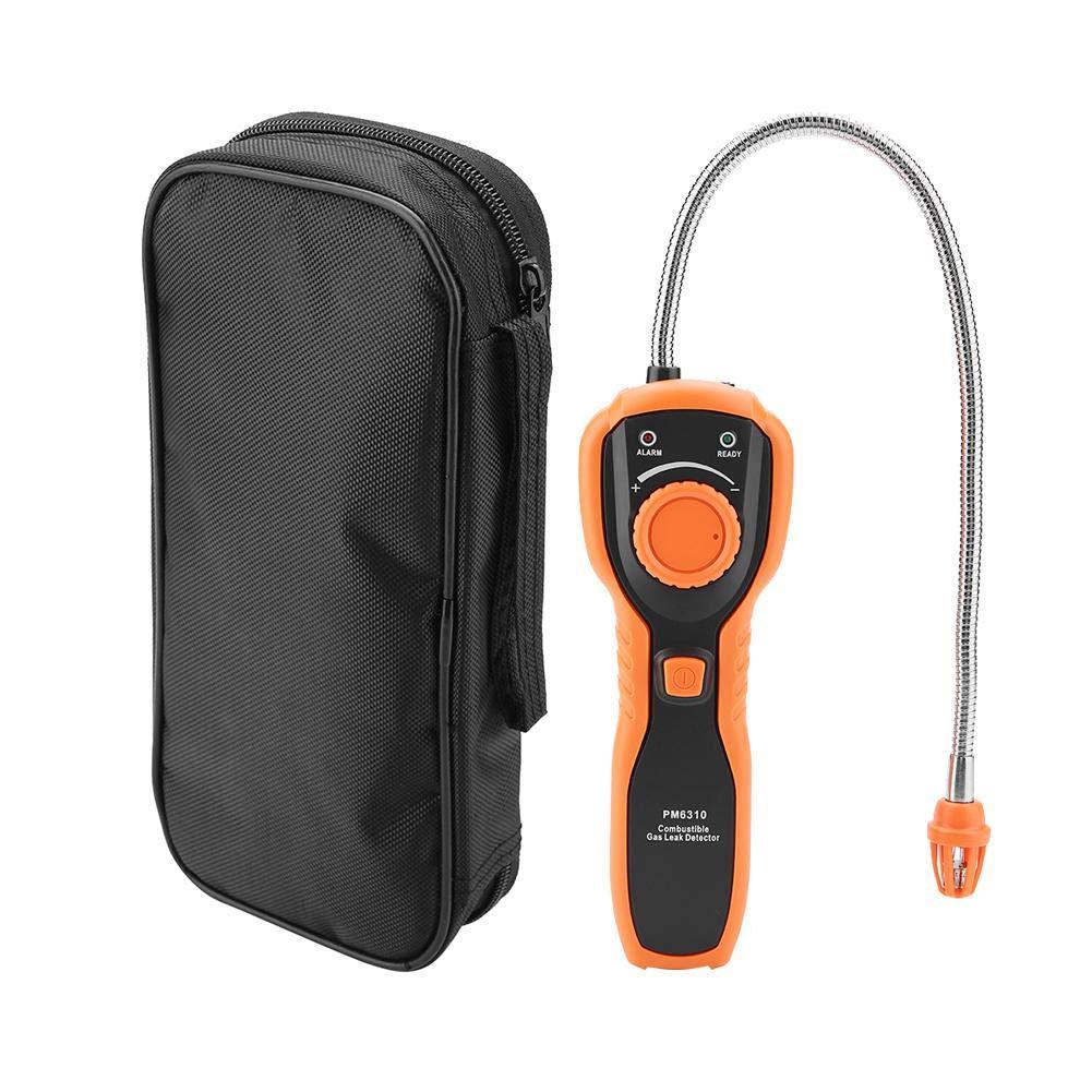 Semme Detector de Gas, Detector de Fugas de Gas Combustible portátil PEAKMETER PM6310 de Alta precisión: Amazon.es: Hogar