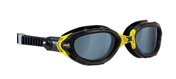 Zoggs Schwimmbrille Predator Flex Smoke Linse+++ Gafas de natación, Unisex, Black: Amazon.es: Deportes y aire libre
