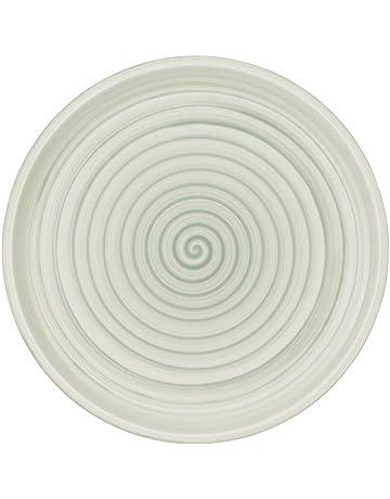 Hoteck Assiette /à p/âtes en c/éramique Lot de 2
