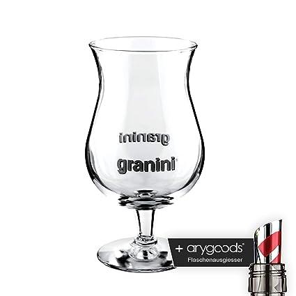 granini Cristal Vasos Cóctel jugo vidrio Cóctel Elite Gastro Bar Decoración + Botella vertedor