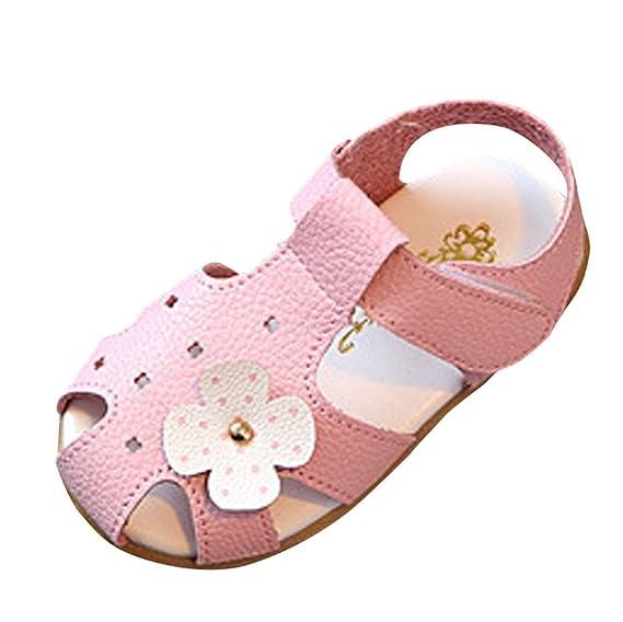 Zapatos Bebe Niño niña Verano ZARLLE Sandalias Zapatos de Suela Blanda Cuna para Bebé Recién Nacido Niño niña: Amazon.es: Ropa y accesorios
