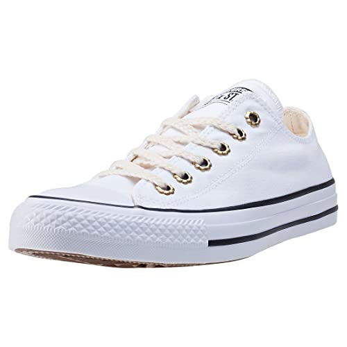 Converse Womens Chuck Taylor All Star Ox White Sunset Pink
