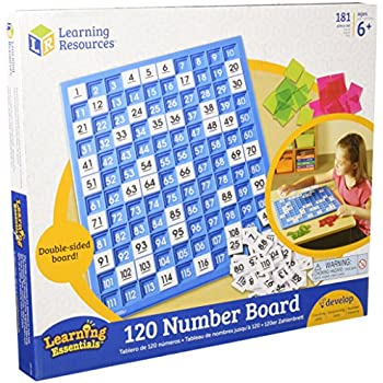 120 Number Board, 181 Pieces