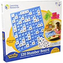 Learning Resources LER1332 120 Number Board, 181 Pieces