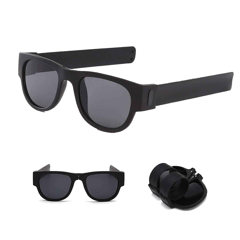 Ideali per Tusenpy Occhiali da Sole polarizzati Pieghevoli,Protezione UV Sport Outdoor Ciclismo Spiaggia