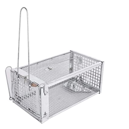Amazon.com: ALLRoad - Trampa para trampas de animales vivos ...