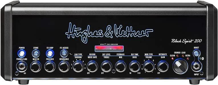 Hughes & Kettner Black Spirit 200-200-Watt Head