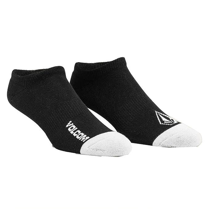 Volcom Mens Stone Ankle Socks Black 3 ...