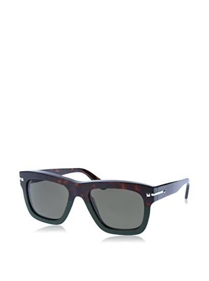 cd22f621c29 Valentino Sunglasses V702S 52 (52 mm) Havana Black  Amazon.co.uk  Clothing
