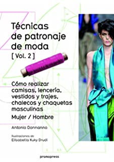TECNICAS DE PATRONAJE DE MODA VOL 2