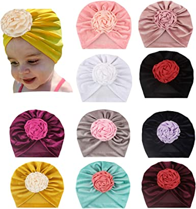 Newborn Baby Kids Girls Infant Fruits Rabbit Bow Hairband Headband Headwear Knot