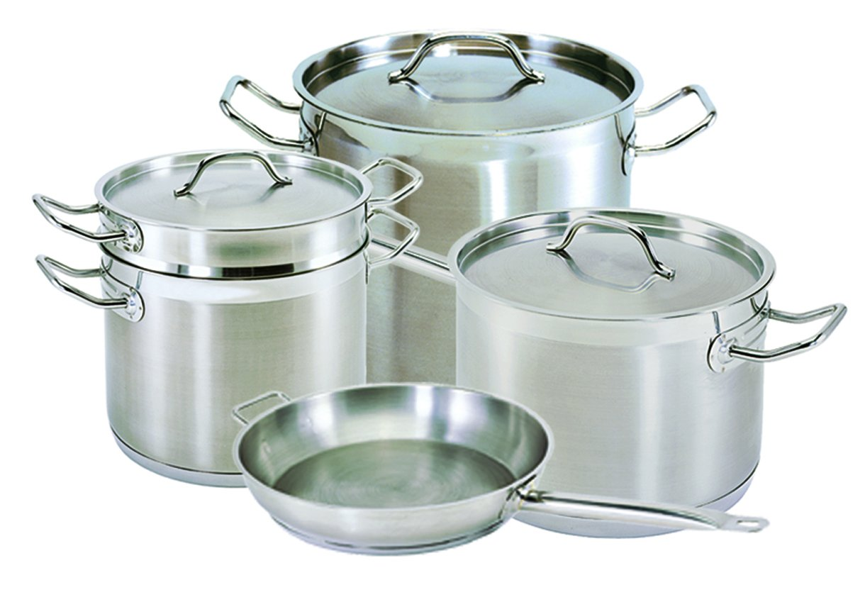 Update International (SPS-40) 40 Qt Induction Ready Stainless Steel Stock Pot w/Cover by Update International (Image #5)