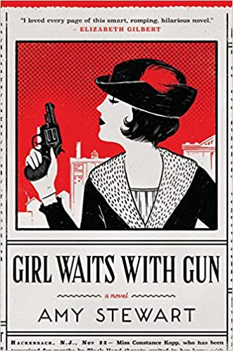Image result for girl waits with gun