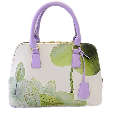 Beautyfronta Women Bags Designer Bags Handbag Small Shell Plum Flower Bag  hehua 26X25x18X12CM