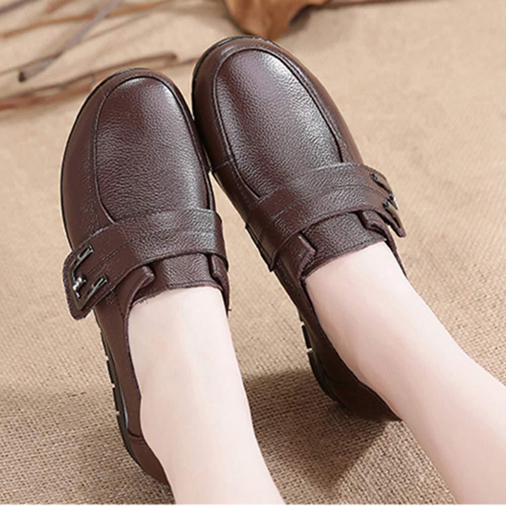 JRenok Femmes Chaussures Casual Baskets Printemps Automne Slip-on Bout Rond  Crochet Boucle Couture Chaussures De ... 9994d40dbd2