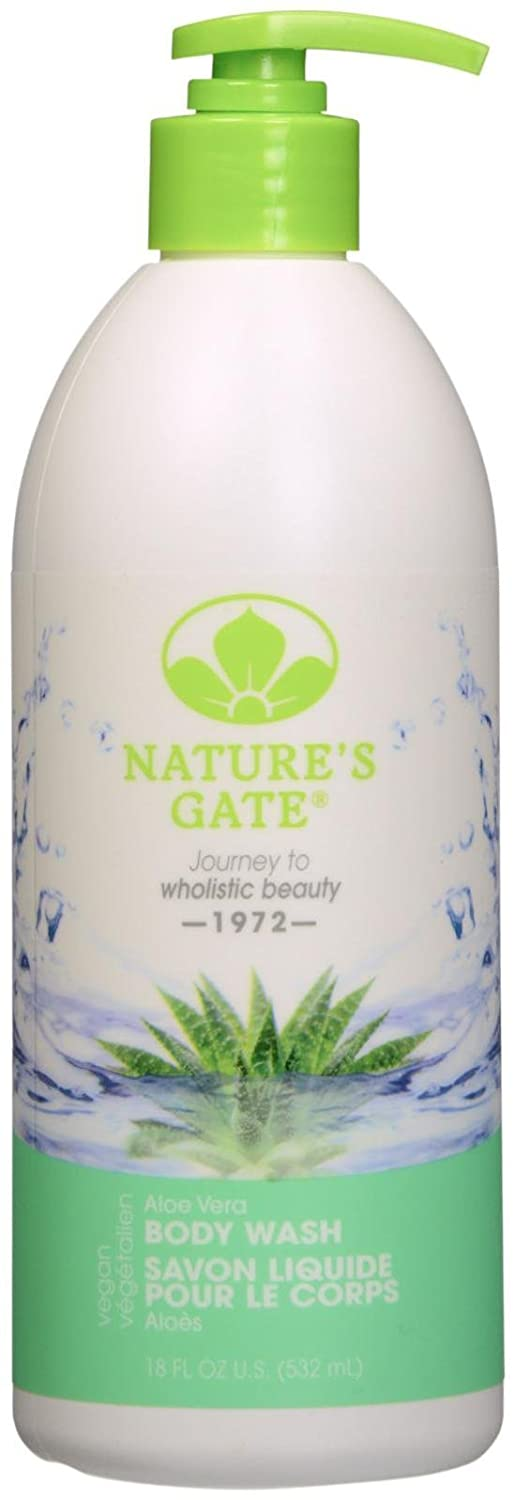 Nature's Gate Velvet Moisture Body Wash - Aloe Vera - 18 oz