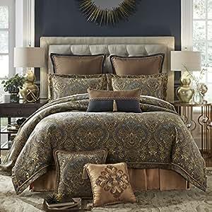 Amazon Com Croscill Cadeau Comforter Set Cal King Home