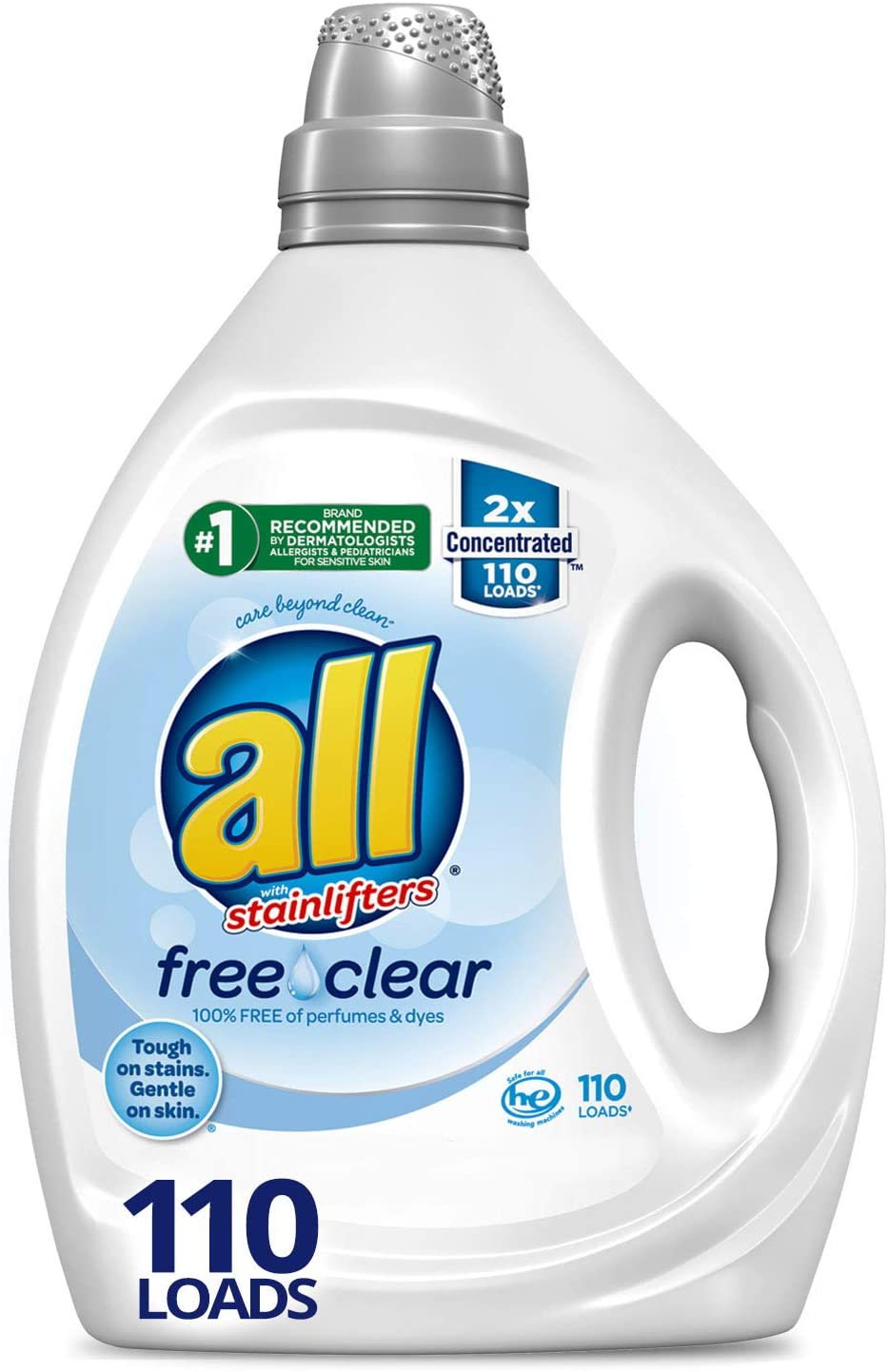 All Free Clear Liquid Laundry Detergent