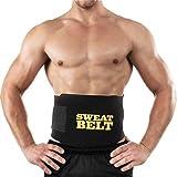 SSTQSAA Waist Trimmer Premium Weight Loss Ab Belt for Men & Women Workout Sweat Enhancer Exercise Adjustable Wrap for Stomach