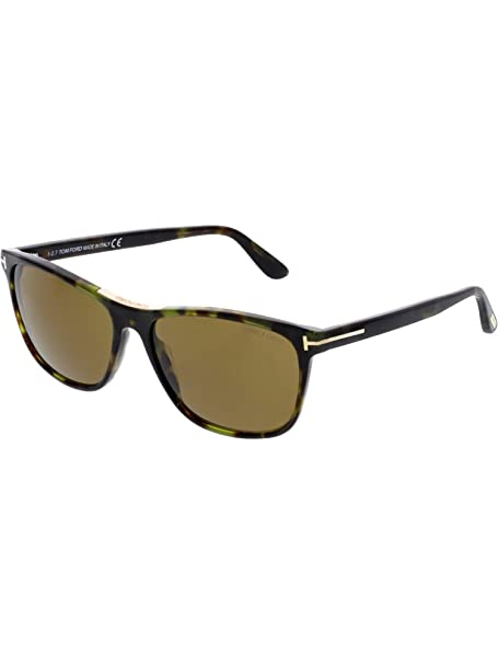 8aa9af7835 Tom Ford Men s FT0629-55J-58 Brown Rectangle Sunglasses  Tom Ford   Amazon.ca  Clothing   Accessories