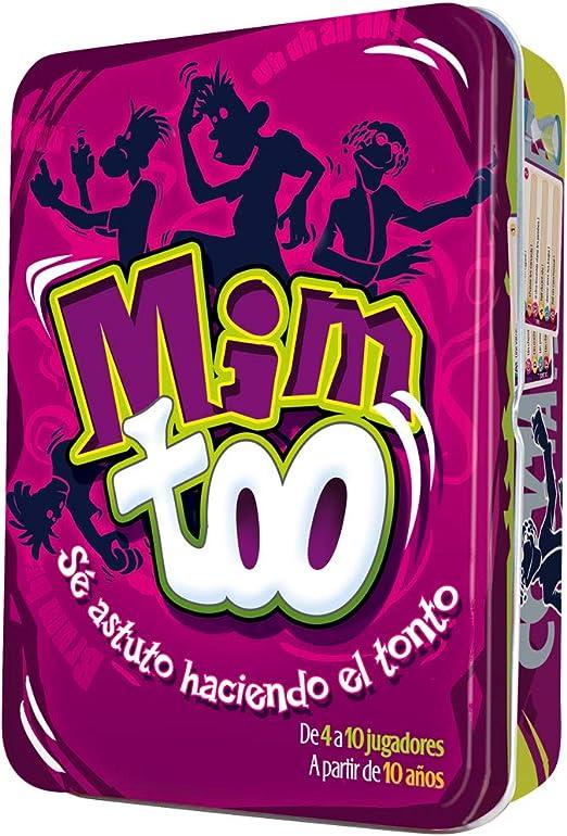 Cocktail Games- Juego de Cartas Mim Too (Asmodee MIM01ES): Amazon.es: Juguetes y juegos