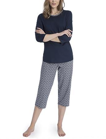 38ef38d3471a5e Calida Damen Zweiteiliger Schlafanzug Enya