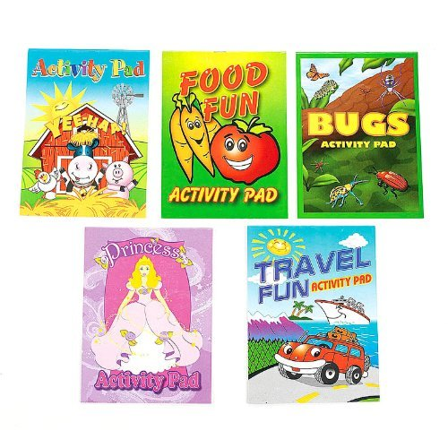 Fun Express Activity Pad Assortment (144 ()