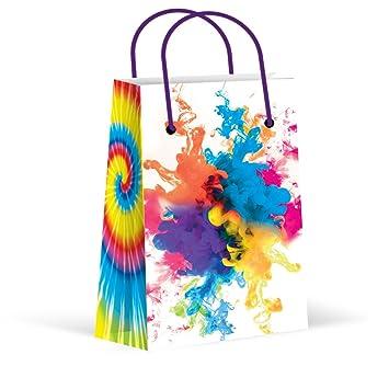 Amazon.com: Tie Dye bolsas de fiesta, camuflaje bolsas de ...