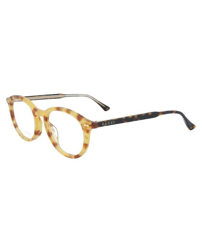 16f5aafdd933 Amazon.com: Eyeglasses Gucci GG 0192 OA- 003 HAVANA /: Clothing