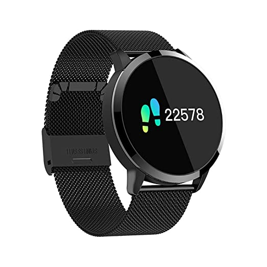 ACZZ Smart Watch Q8 2019,Men Women Outdoor Smart Watch ...