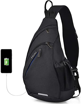 Details about  /Stylish Sling Bag Men Lightweight Travel Bags Tote Molle Backpack Daypack