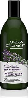 product image for Avalon Organics Bath & Shower Gel, Nourishing Lavender, 12 Oz