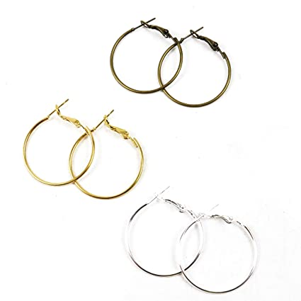 60pcs Hoop Ear Wire for Beads Findings DIY Making Jewelry Findings Crafts