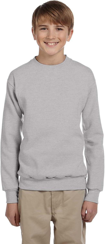 Hanes Boys ComfortBlend EcoSmart Crewneck Sweatshirt