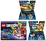 LEGO Batman Movie Story Pack + Legend Of Chima Eris and Cragger Fun Packs - LEGO Dimensions - Not Machine Specific