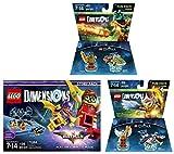 LEGO Batman Movie Story Pack + Legend Of Chima Eris y Cragger Fun Packs - Dimensiones de LEGO - No específico de la máquina