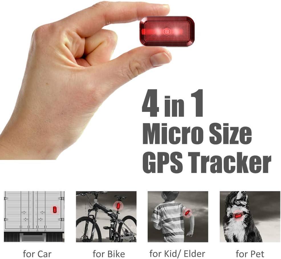 Mini GPS Tracker Impermeable 3G GPS Tracker con potente im/án 6000mAh Plataforma de alarma de bater/ía baja Seguimiento gratuito para ni/ños Ni/ños Ancianos Mascotas
