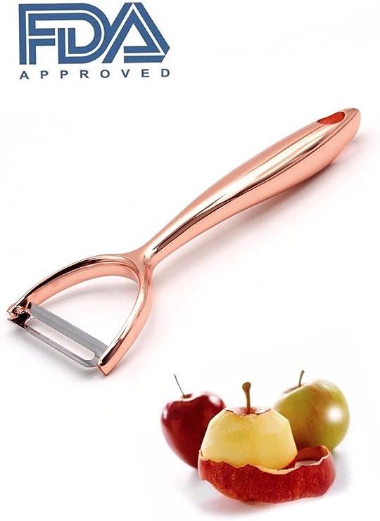 Kitchen Zinc Alloy Ultra Julienne for peeler Tool fruit or vegetable