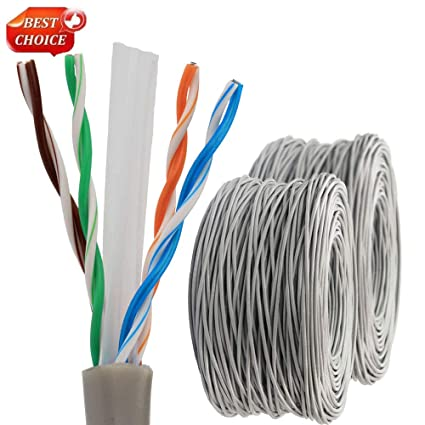 Pleasing Amazon Com Yubao 1 000 Ft 330Ft Bulk Cat6 Ethernet Cable Wire Utp Wiring Cloud Hisonuggs Outletorg