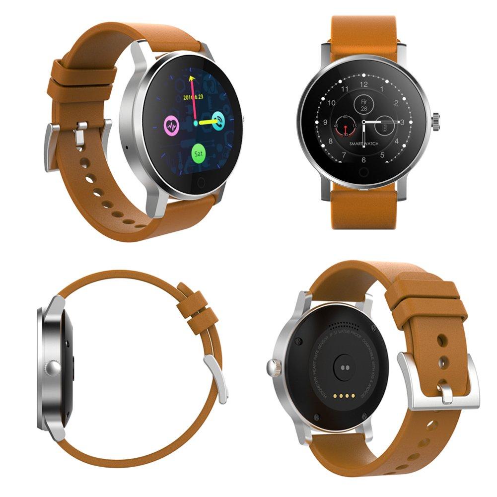 SMAWATCH SMA-09 Smart Fitness Tracker Watch, reloj de pulsera 1.22