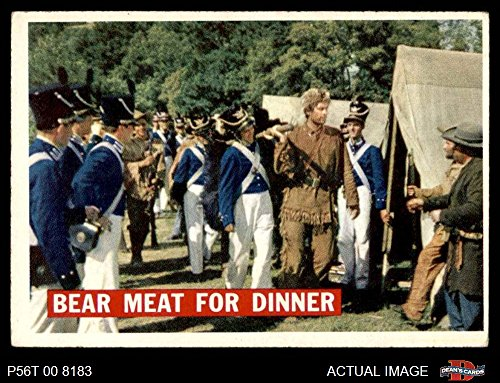 1956 Topps Davy Crockett Orange Back # 5 Bear Meat For Dinner (Card) Dean's Cards 4 - VG/EX 2679320