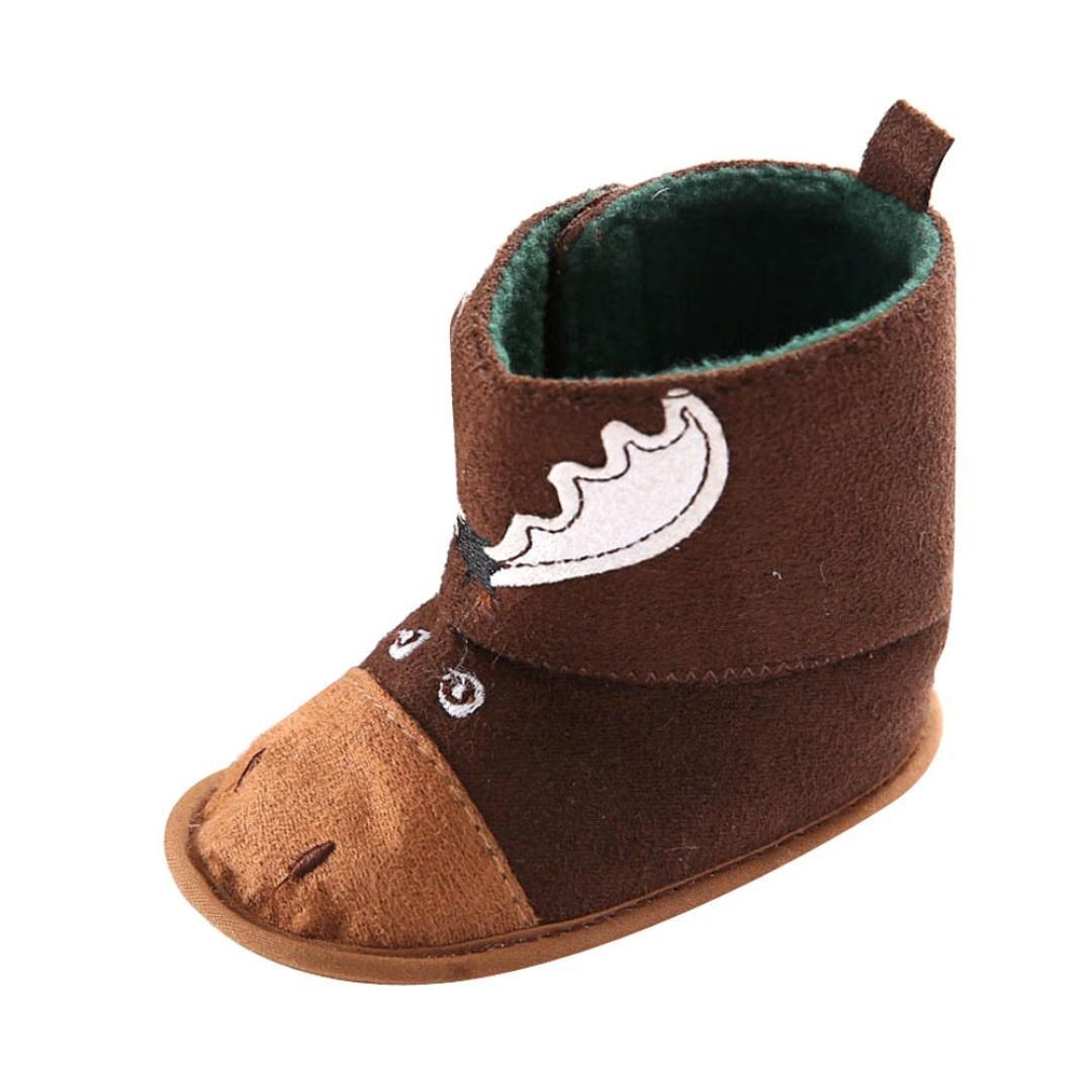 満点の goodtrade8 gotdベビー女の子男の子ブーツソフトソールPrewalker幼児用靴 B01LZUCPRZ goodtrade8 L: 12~18 Months コーヒー Months B01LZUCPRZ, 紫波郡:17ecf8e7 --- martinemoeykens.com