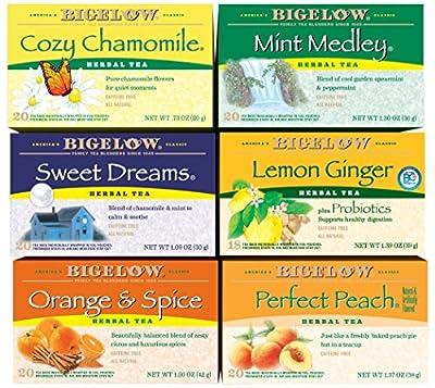 Bigelow Tea Variety Pack (Full Boxes)