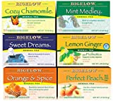 Bigelow Herbal Tea Variety Pack 118 Bags Caffeine-Free Individual Herbal Tisane Bags, for Hot Tea or Iced Tea, Drink Plain or Sweetened with Honey or Sugar