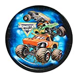 BirthdayExpress Monster Jam Party Supplies - Dessert Plate (48)