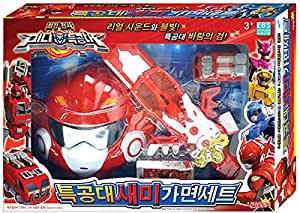 Amazon Com Miniforce Sammy Semi Mask Play Set For Korea