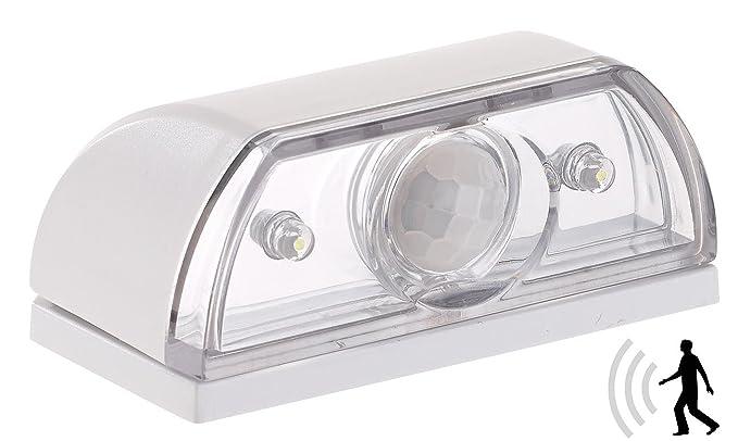 Lunartec – Escaleras Luz: Mini lámpara LED para escaleras (& luz nocturna, sensor